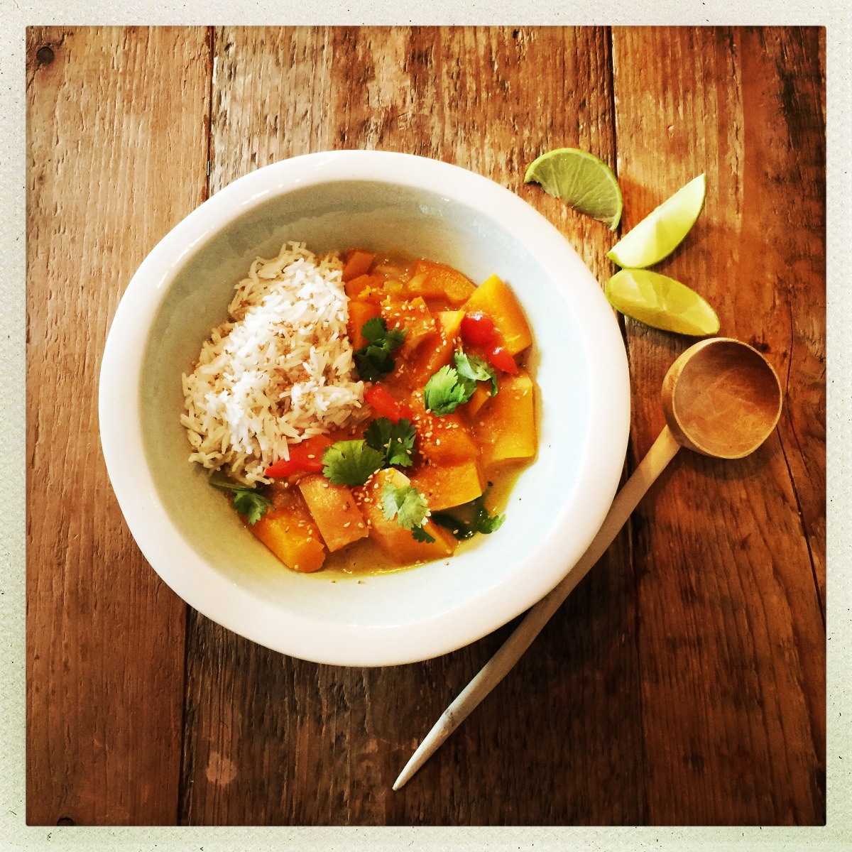Butternut curry coco